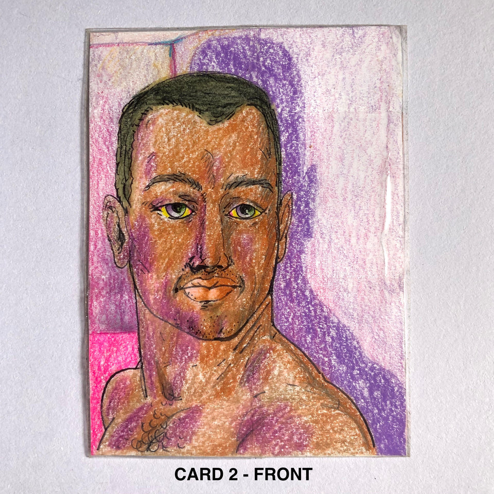 Hot Guy Trading Cards by Drake Carr