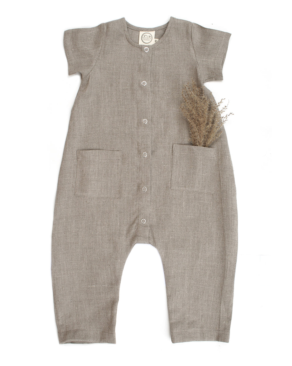 LOUIE JUMPSUIT, STONE