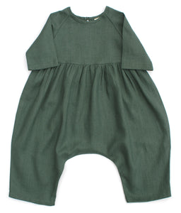 RAGLAN JUMPSUIT, FOREST