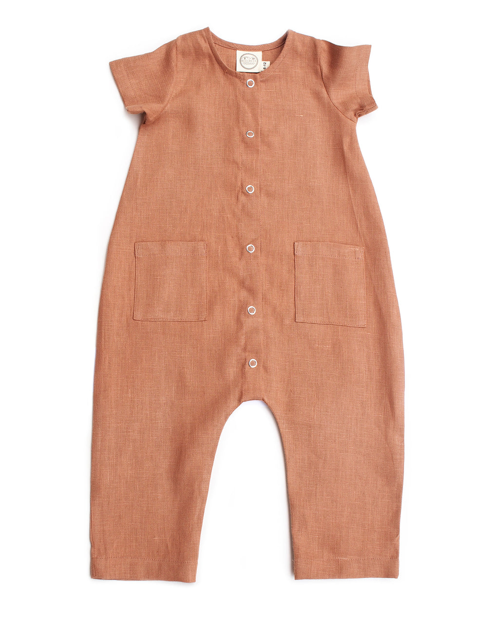 LOUIE JUMPSUIT, TERRA COTTA
