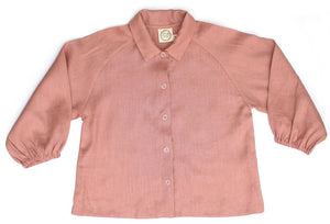 ROSIE SHIRT, DUSTY ROSE