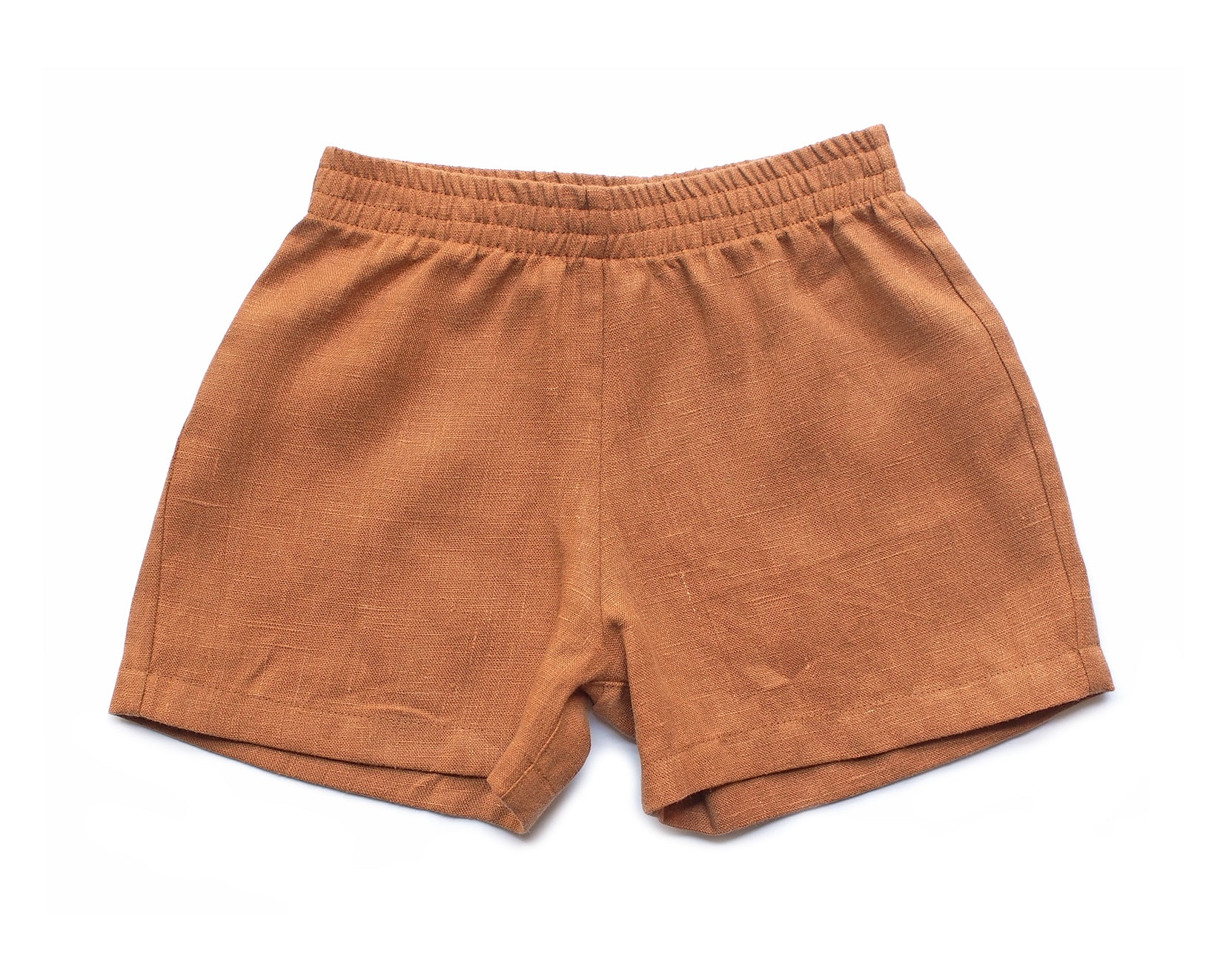 RIVER SHORTS - RUST