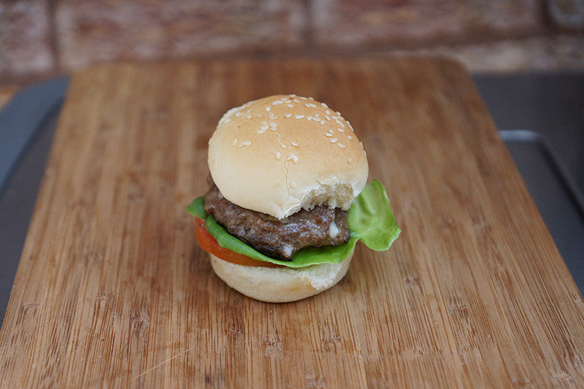 Example of beautiful Burger Master Sliders mini-burger