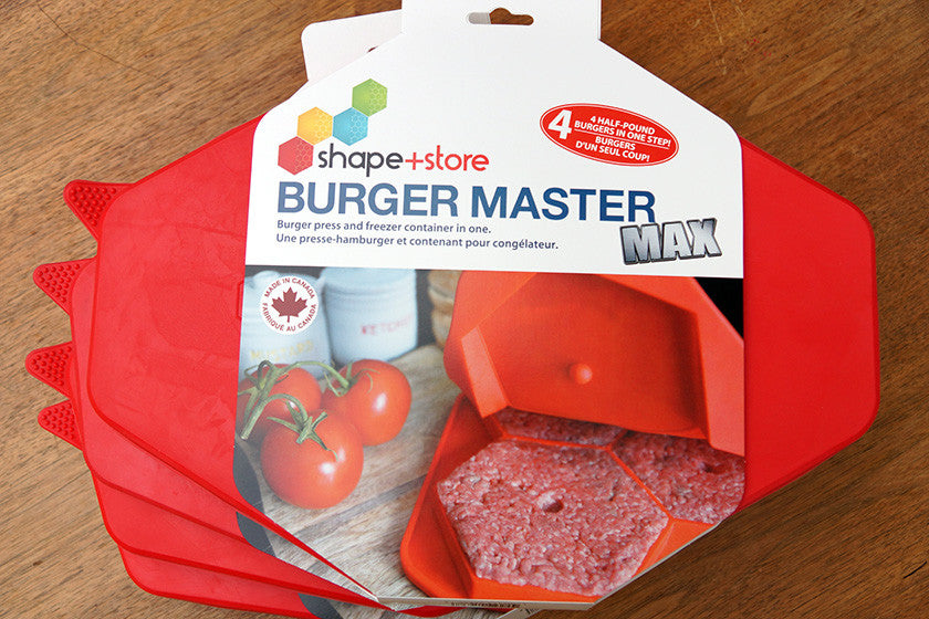 Burger Master MAX bundle in package