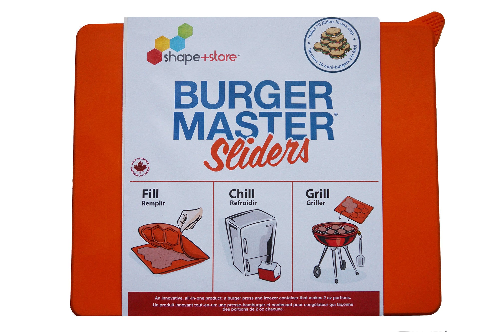Burger Master Sliders in package