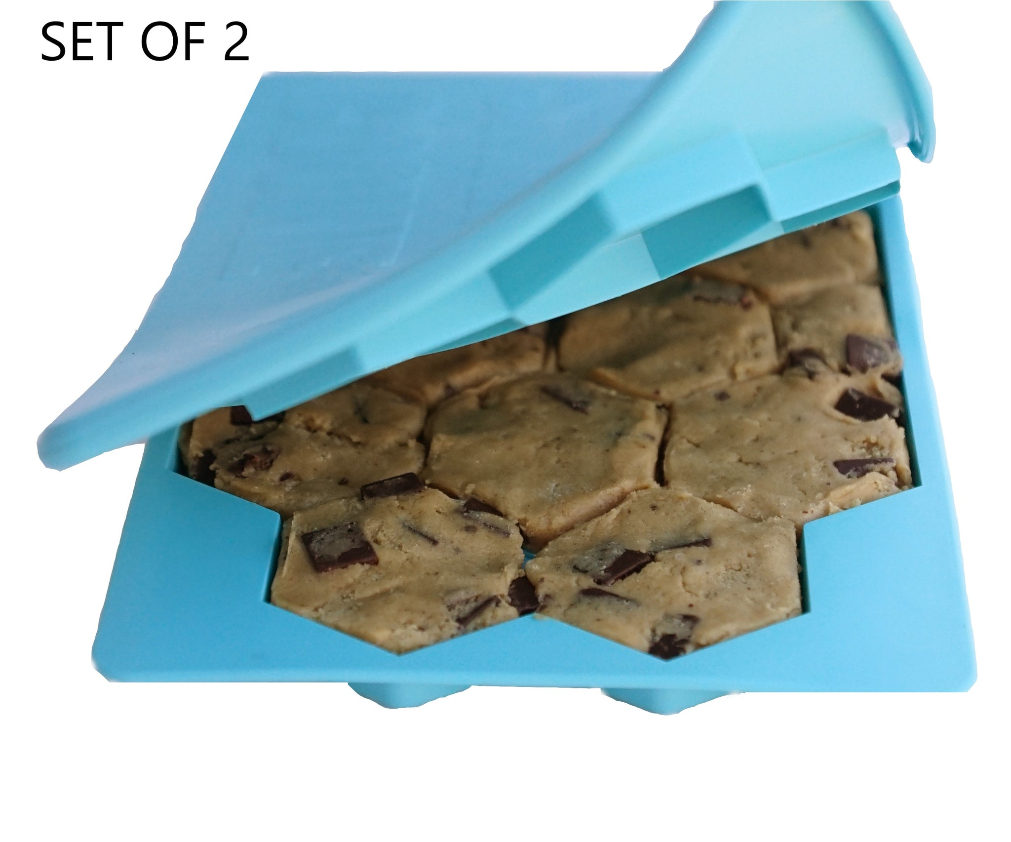 Opening a blue Smart Cookie
