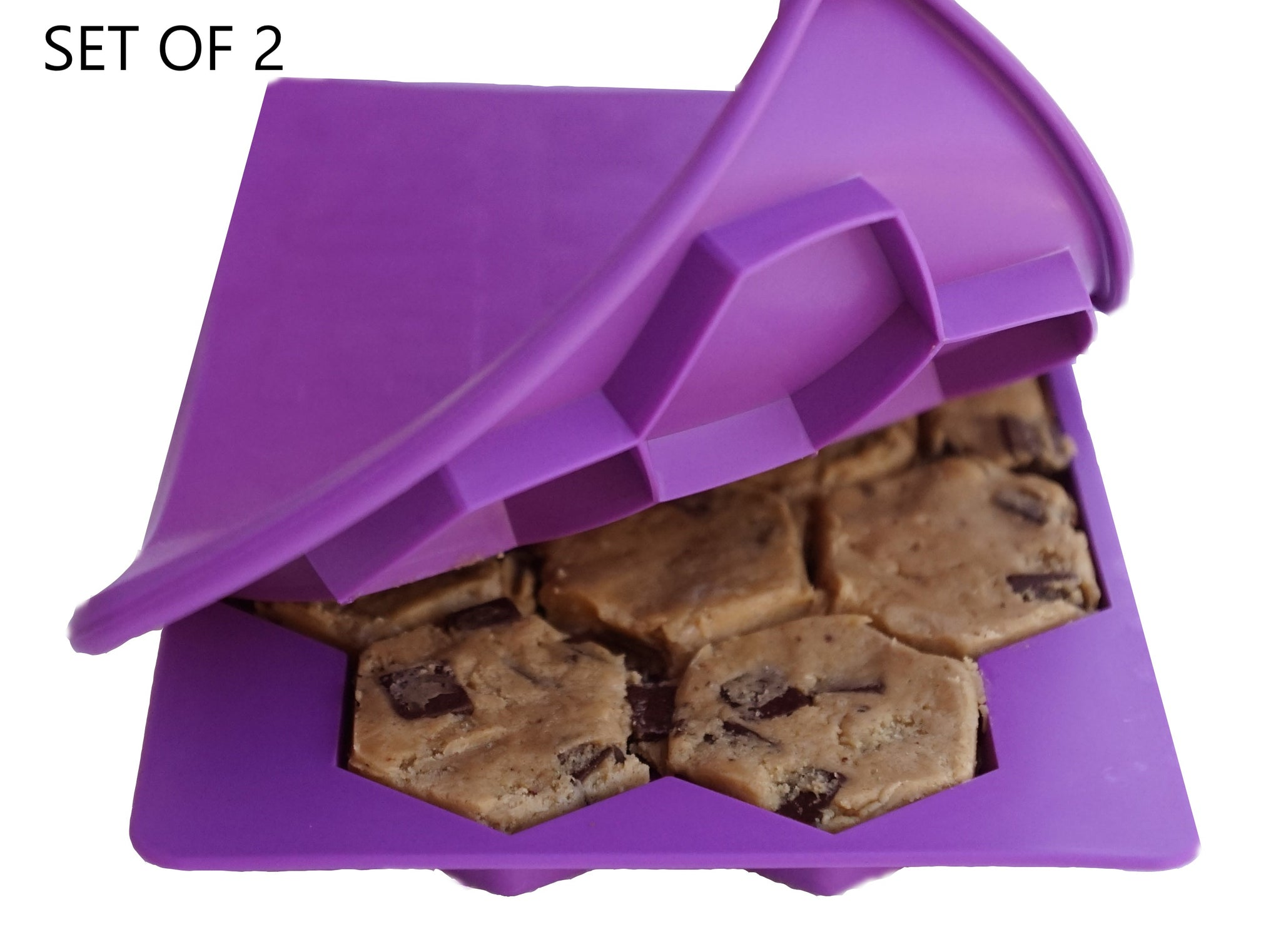 Opening a purple Smart Cookie