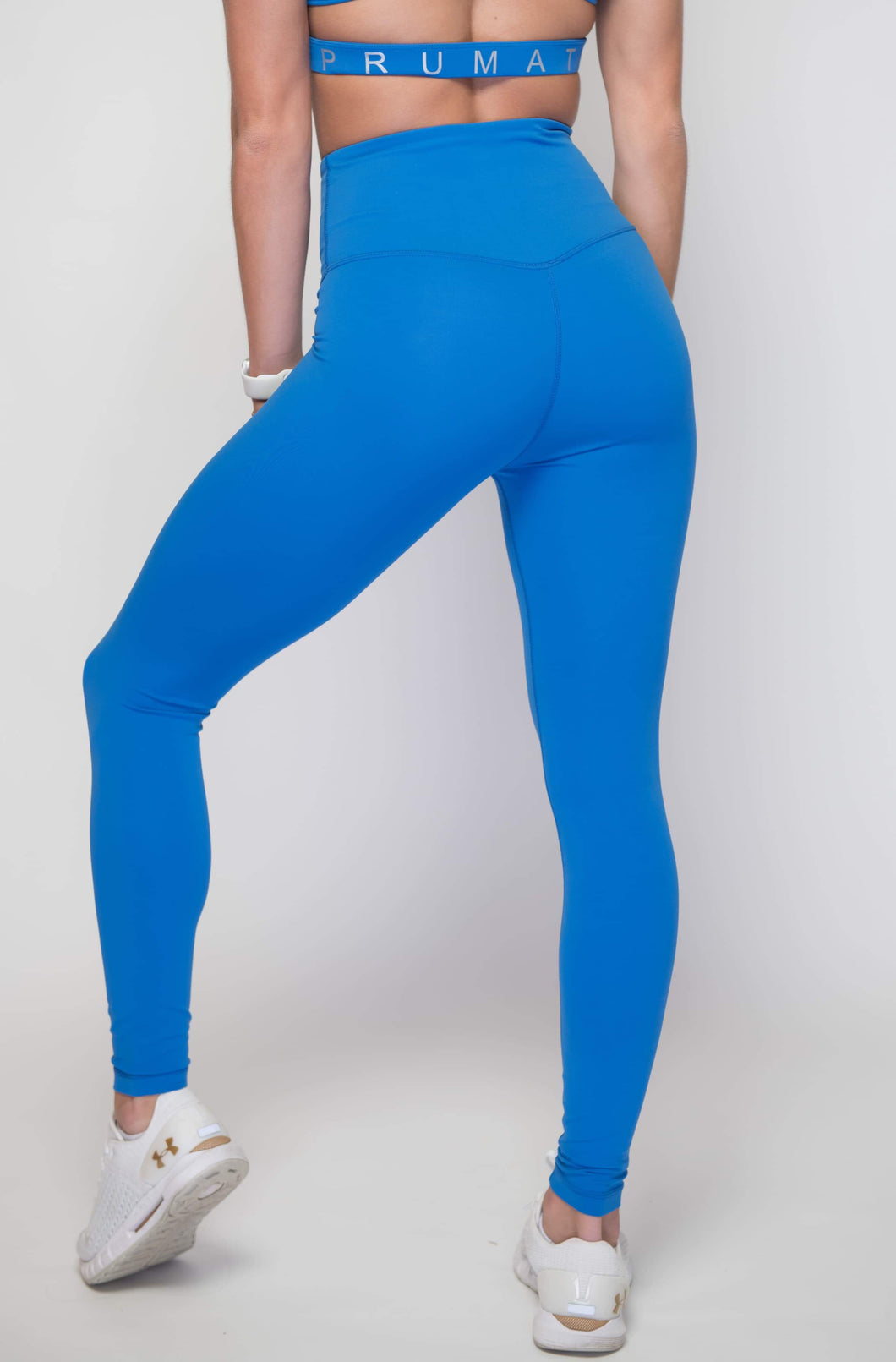 Women's Performance Stretch Bottoms High Rise | High Waist Leggings  | Princess Blue