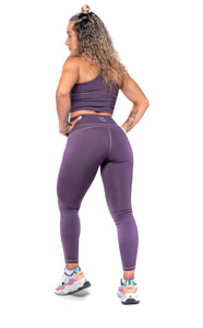 Purple Perfect Curves Leggings