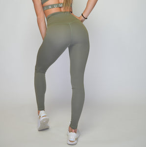 Women's Performance Stretch Bottoms High Rise | High Waist Leggings  | Terrarium Moss