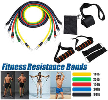 Load image into Gallery viewer, 11 Pieces Resistance Bands
