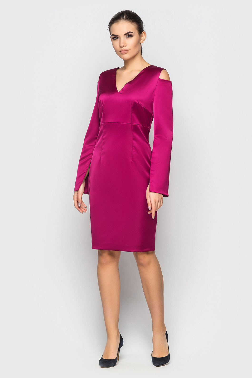Cocktailkleid TASHA in Fuchsia