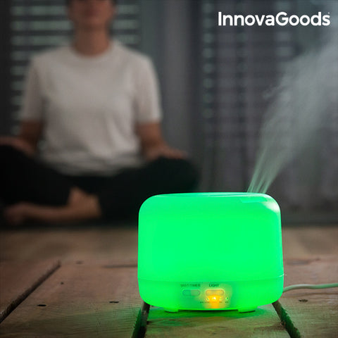 Image of Humidificateur Diffuseur d'Arômes LED Multi-Coloured InnovaGoods