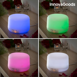 Humidificateur Diffuseur d'Arômes LED Multi-Coloured InnovaGoods