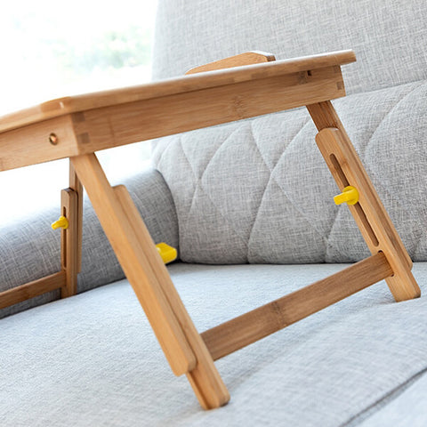 Image of Table pliante pour ordinateur canapé