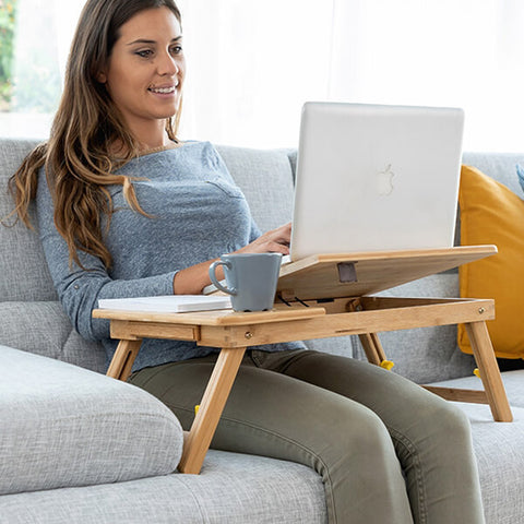Image of Table pliante pour laptop