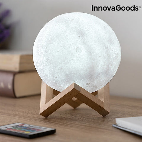 Image of Lampe lune 3D