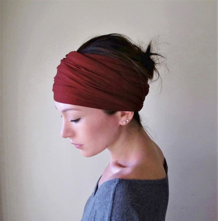 Ecoshag Brick Red Headband