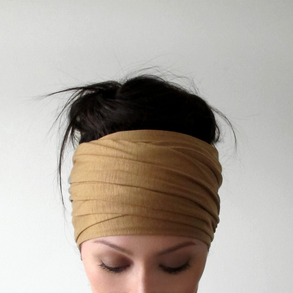 ecoshag camel brown headband