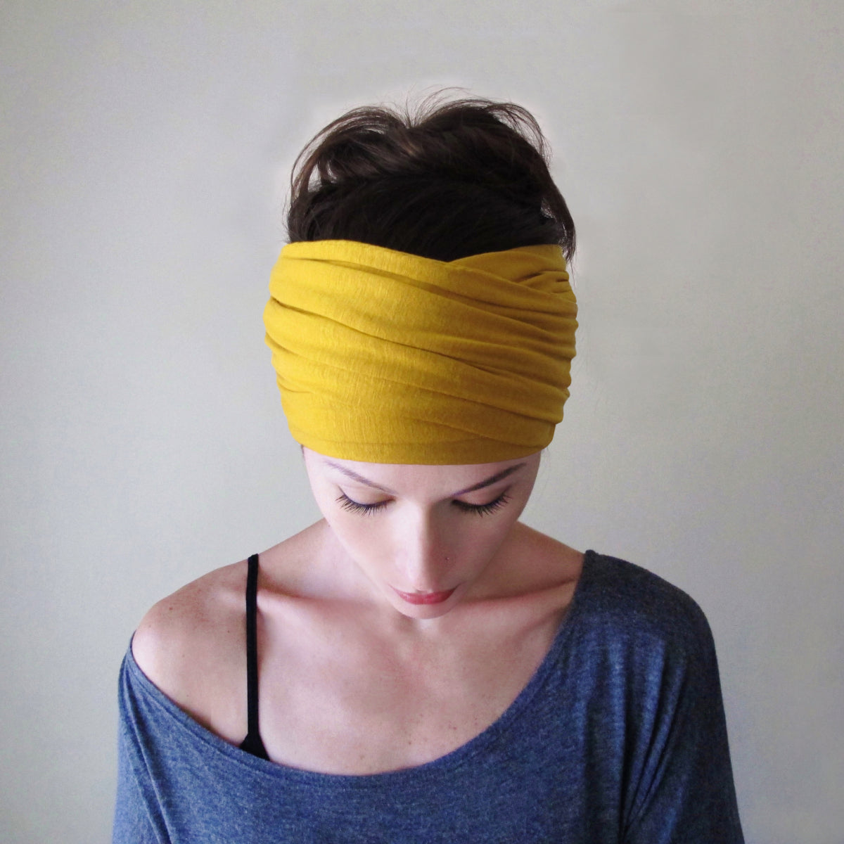 goldenrod-yellow-ecoshag-headscarf