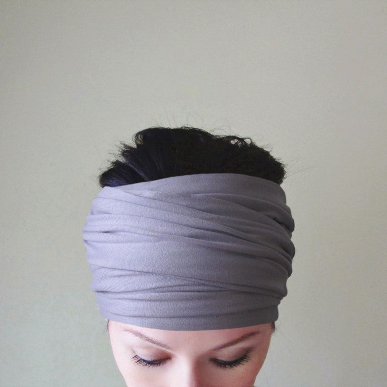 ecoshag lilac head scarf for women