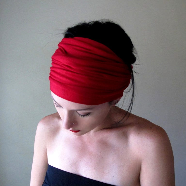 ecoshag red head scarves for women
