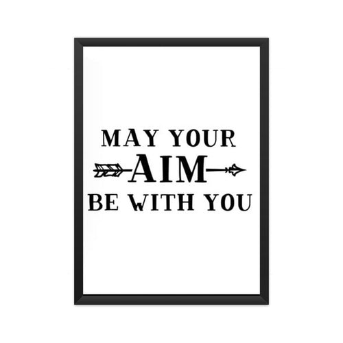 May Your Aim Be With You