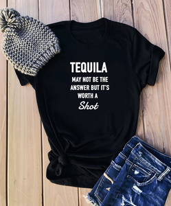 TEQUILA IS WORTH A SHOT