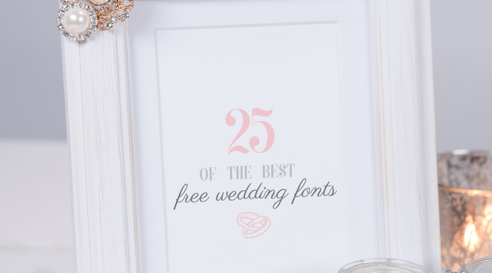 25 of the best free wedding fonts