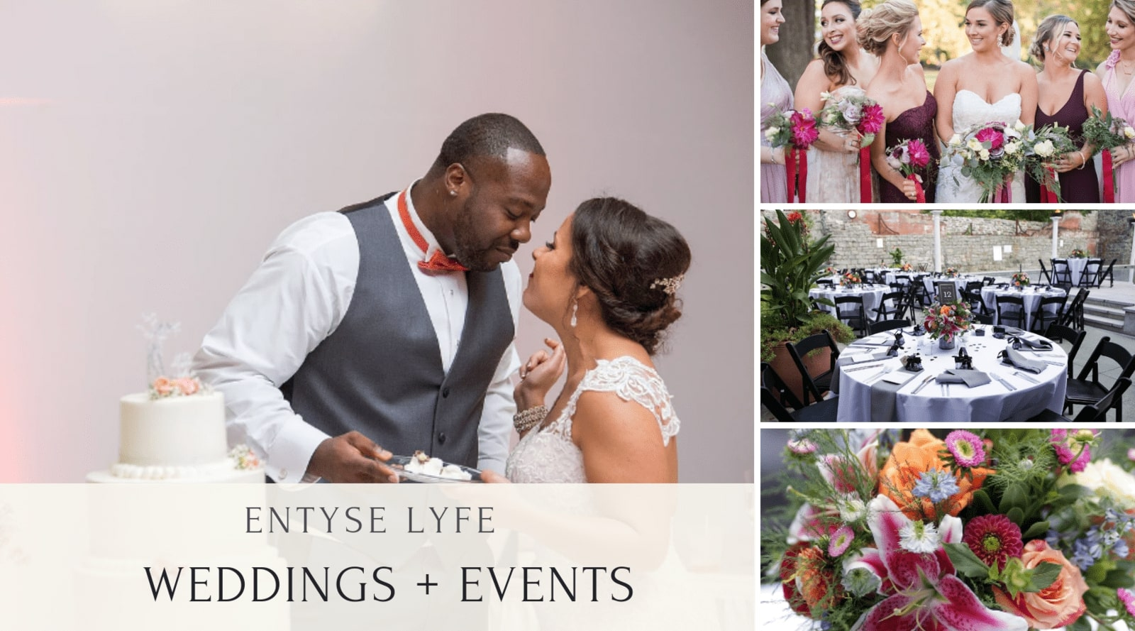 Today's Expert: Andrea Davis from Entyse Lyfe Weddings and Events