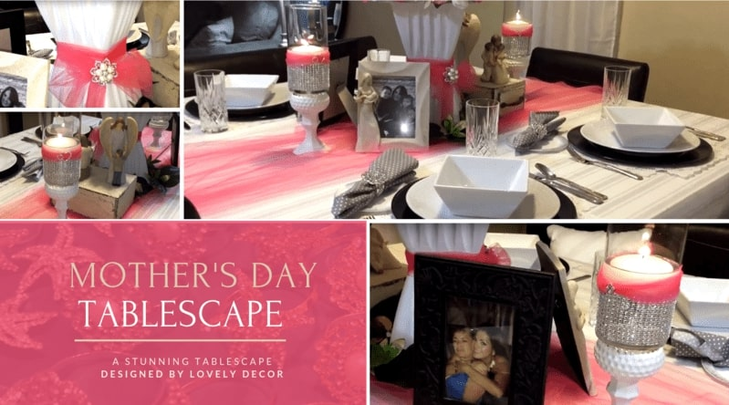 Araceli Chan Mother's Day Tablescape