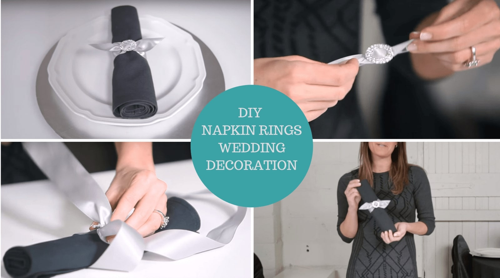 DIY Napkin Ring Wedding Décor Tutorial