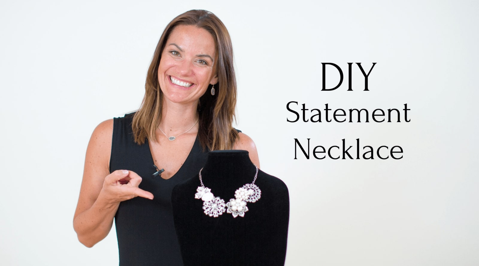 Statement Necklace Tutorial - DIY Wedding Necklace