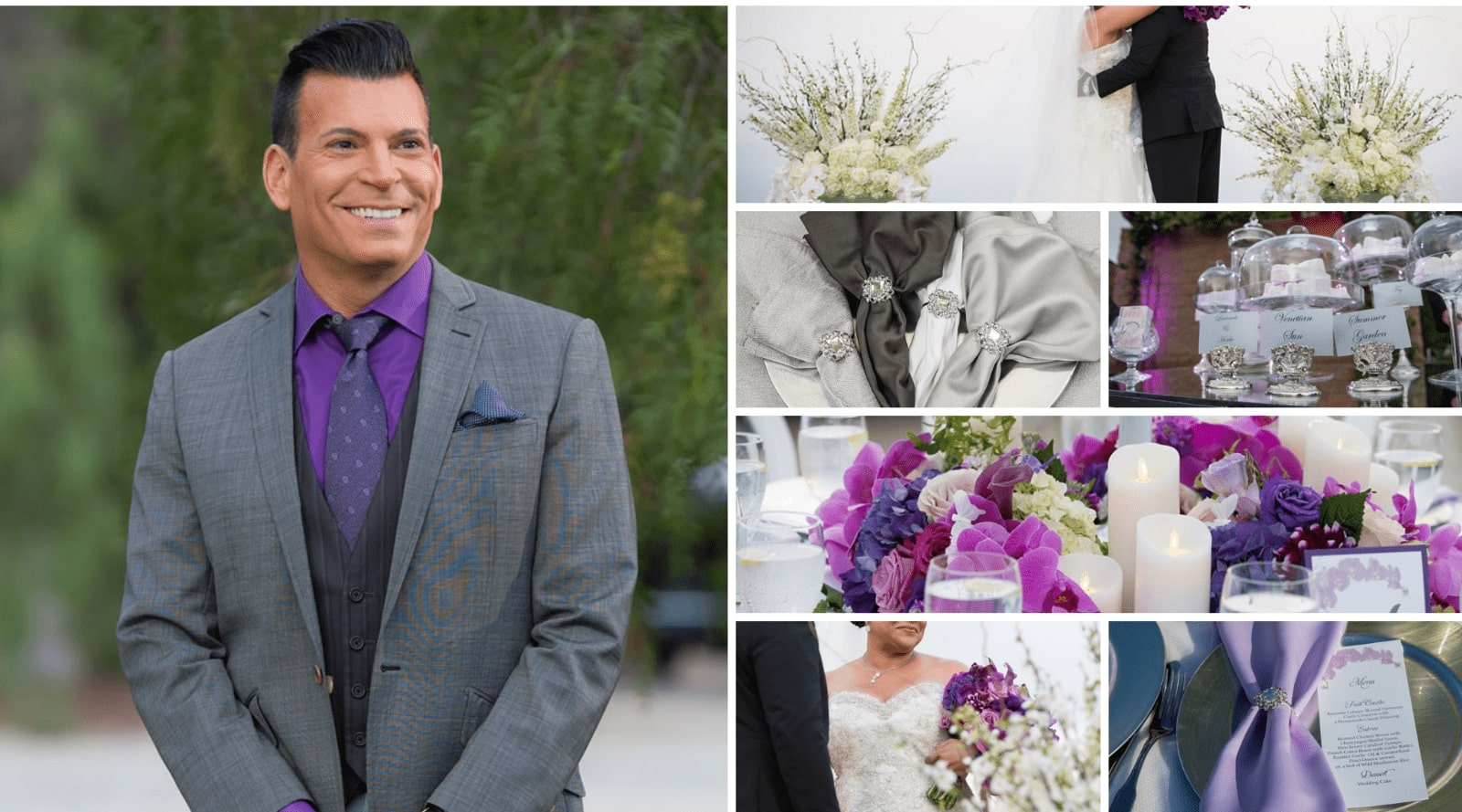 David Tutera CELEBrations & Totally Dazzled at Kim Cole's Wedding