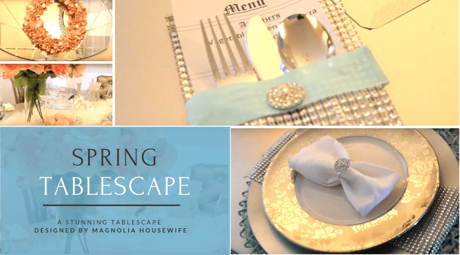 Spring Tablescape Inspiration Designed by Decorating Dollars