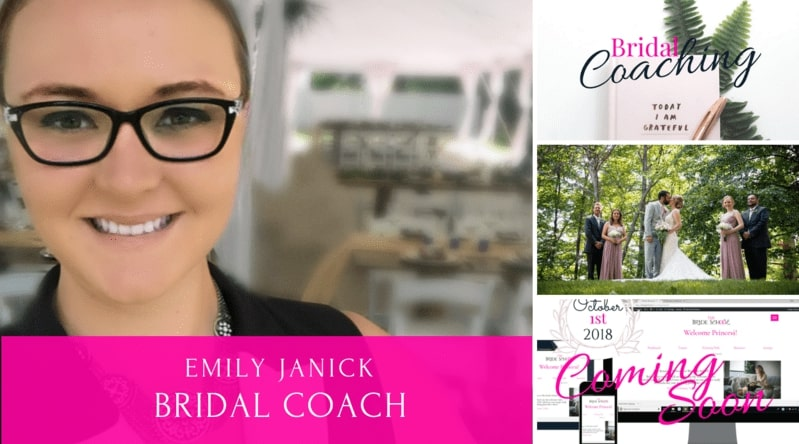 Today's Expert: Emily Janick from The Bride School