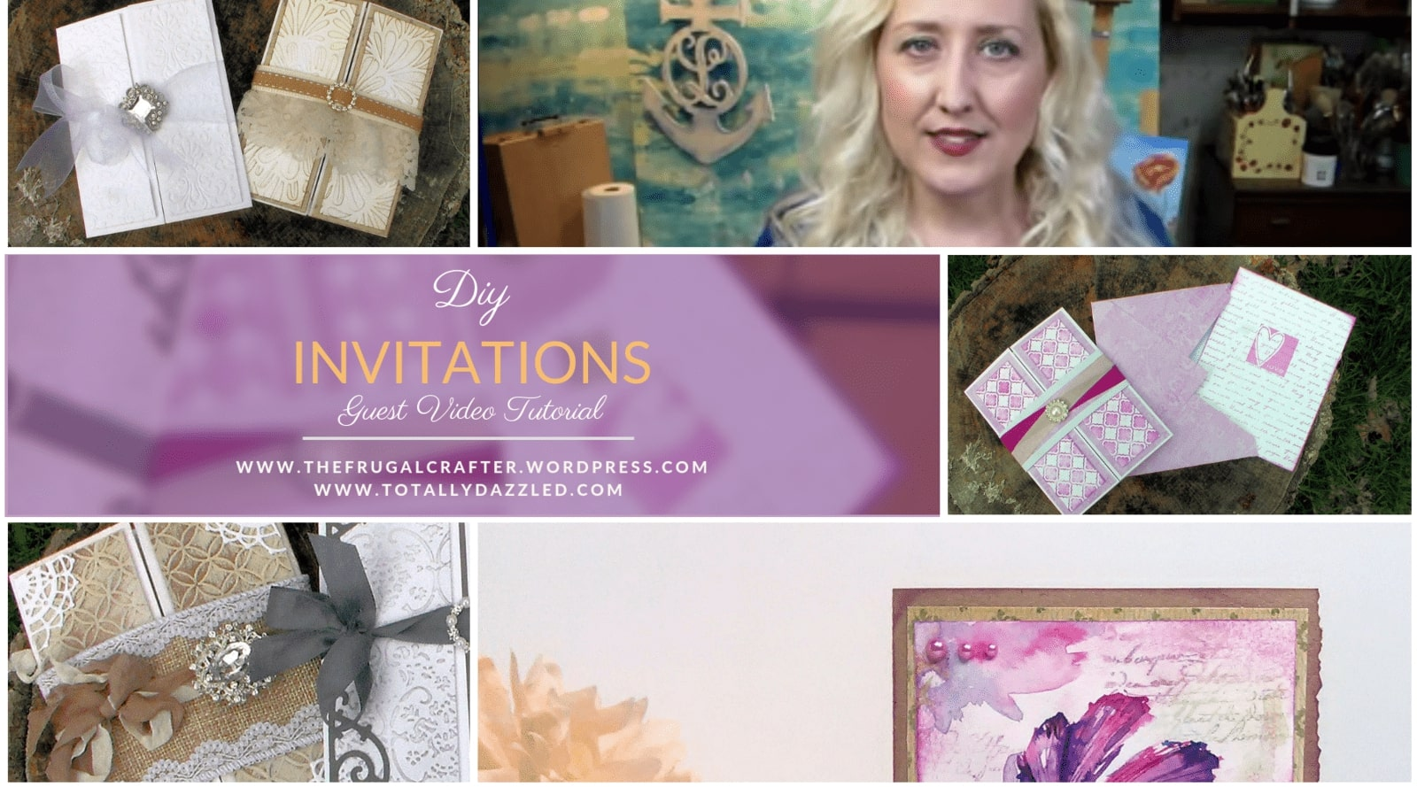 Wedding Invitations DIY with the Frugal Crafter