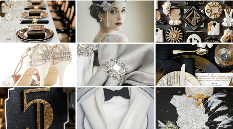 Great Gatsby Wedding Theme Inspiration