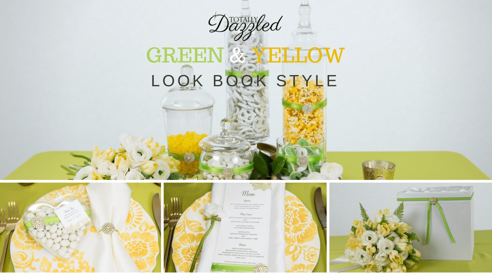 2016 Lookbook Green and Yellow