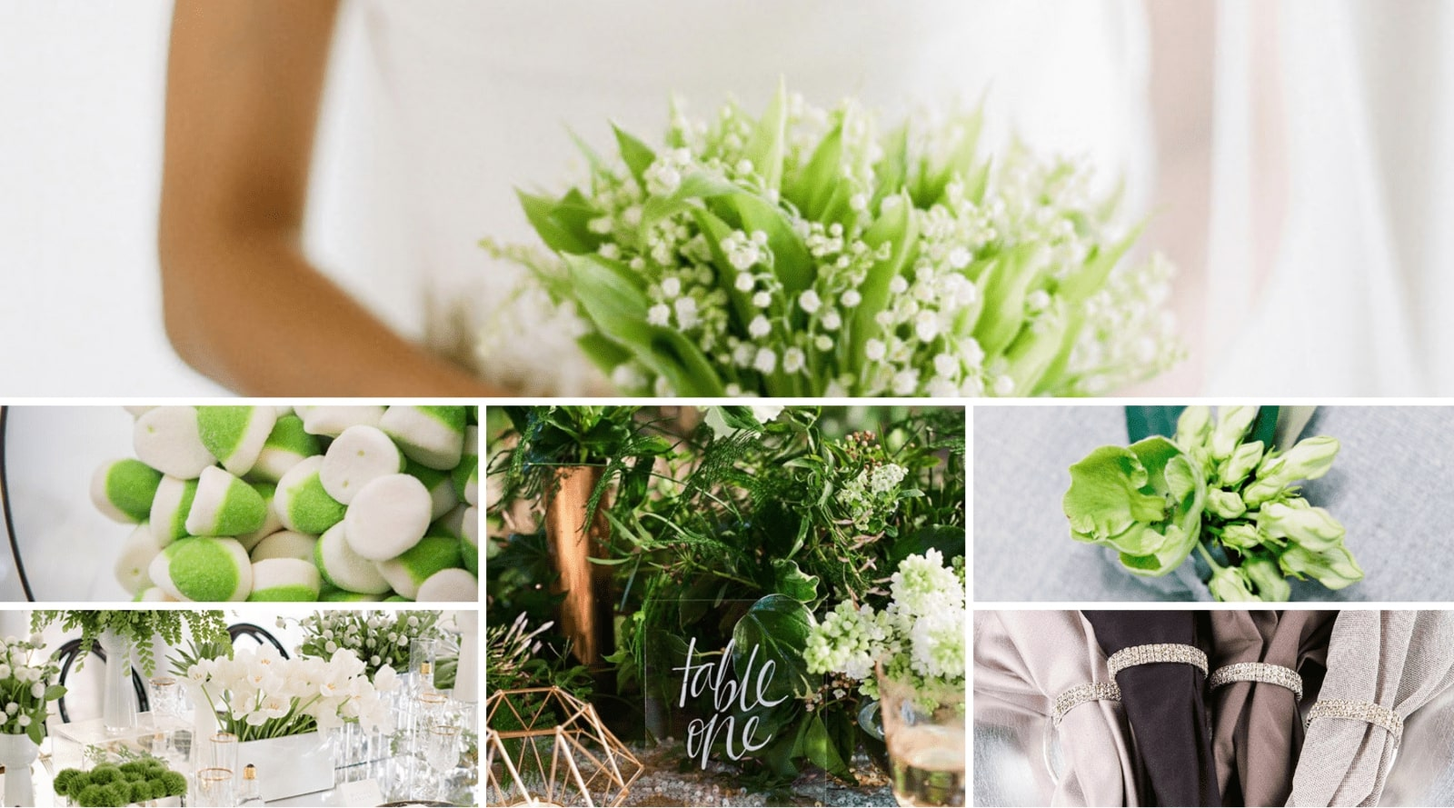 Pantone Color of the year 2017 - Greenery Wedding Inspiration