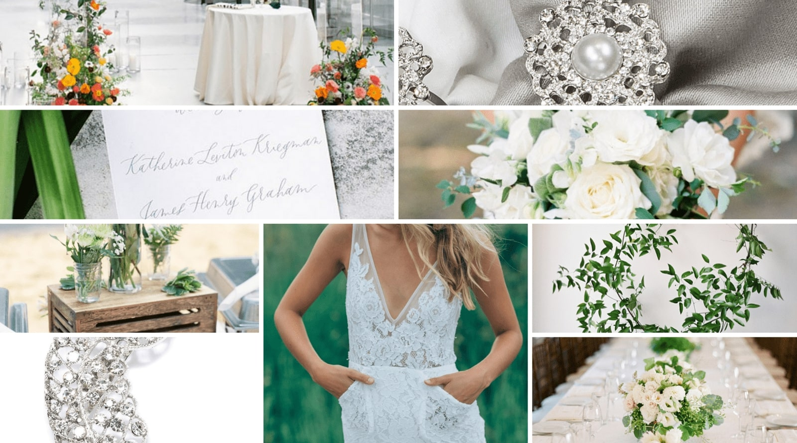Greenery Wedding Theme and Color Inspiration