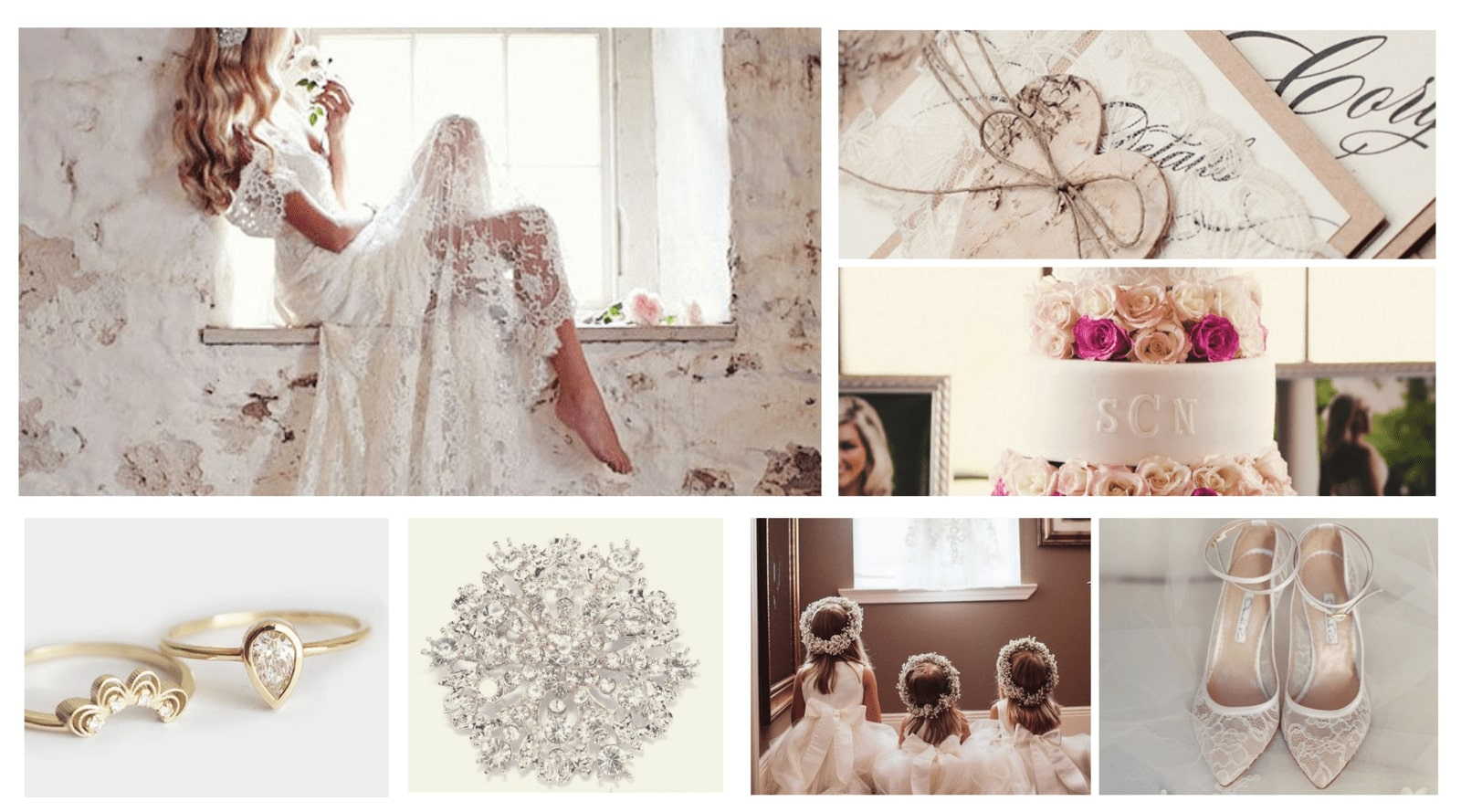 Lace Wedding Theme Inspiration