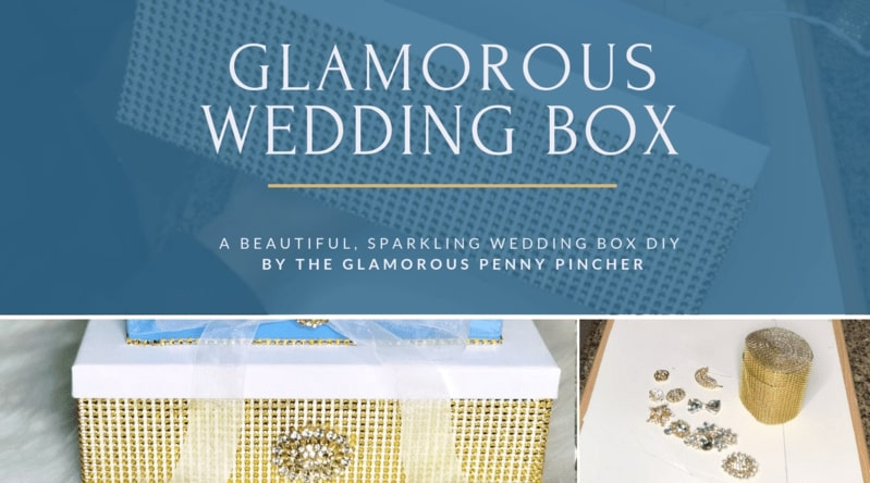Beautiful Wedding Boxes by The Glamorous Penny Pincher