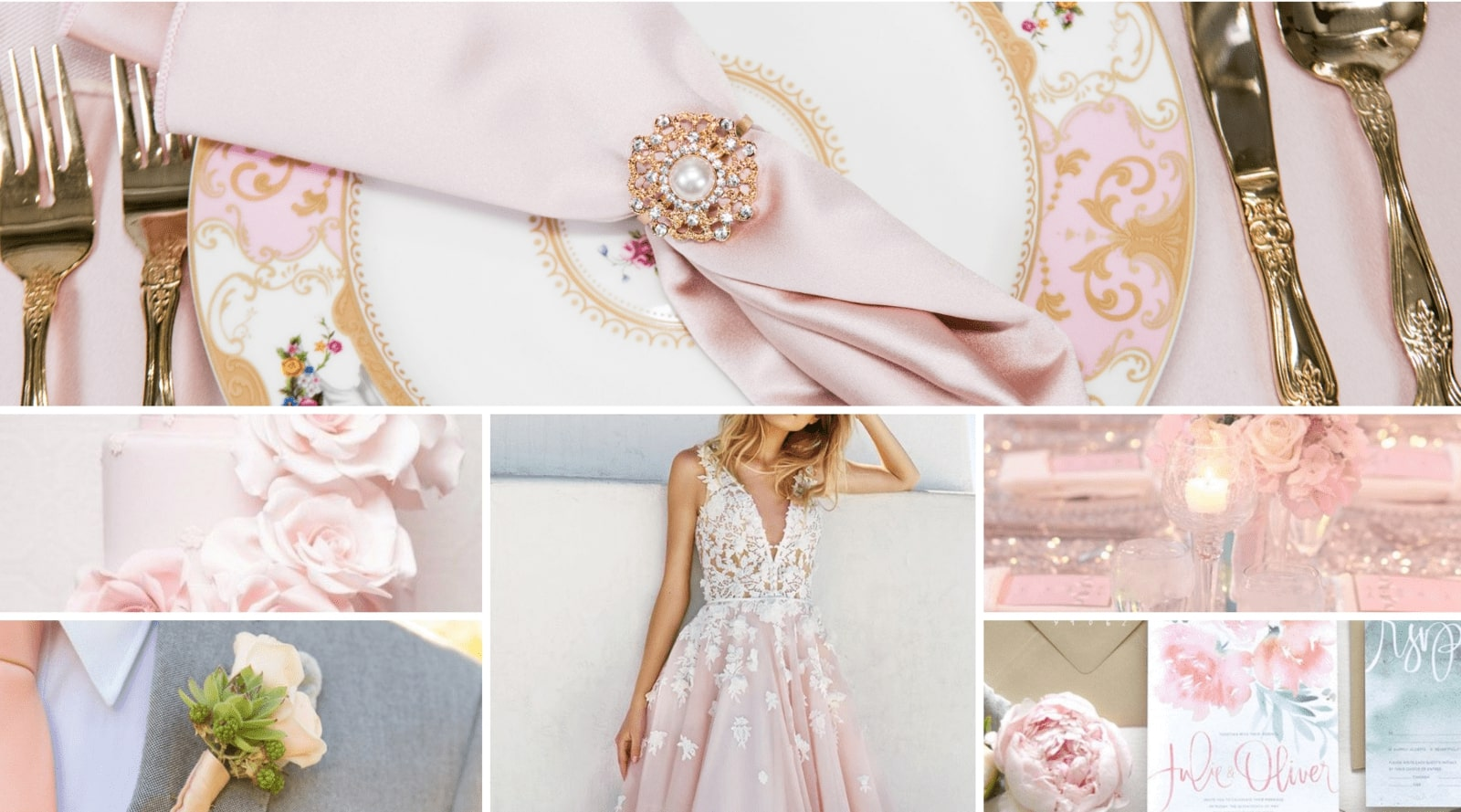 Soft Pink Wedding Inspiration