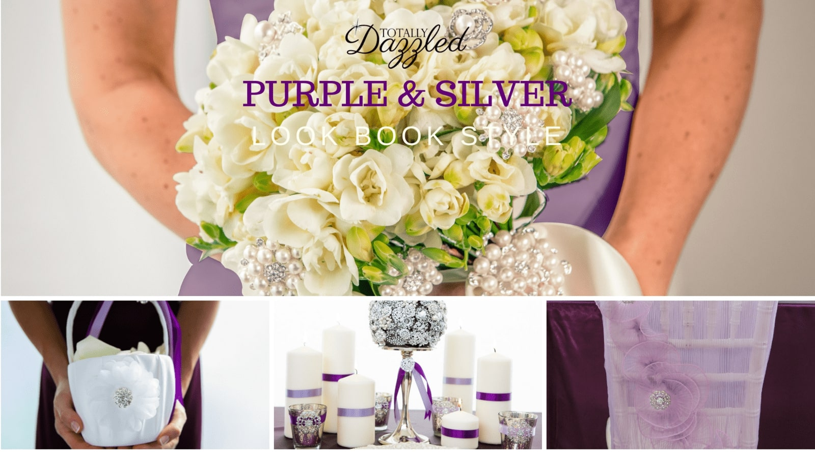 2016 Lookbook Purple and Silver
