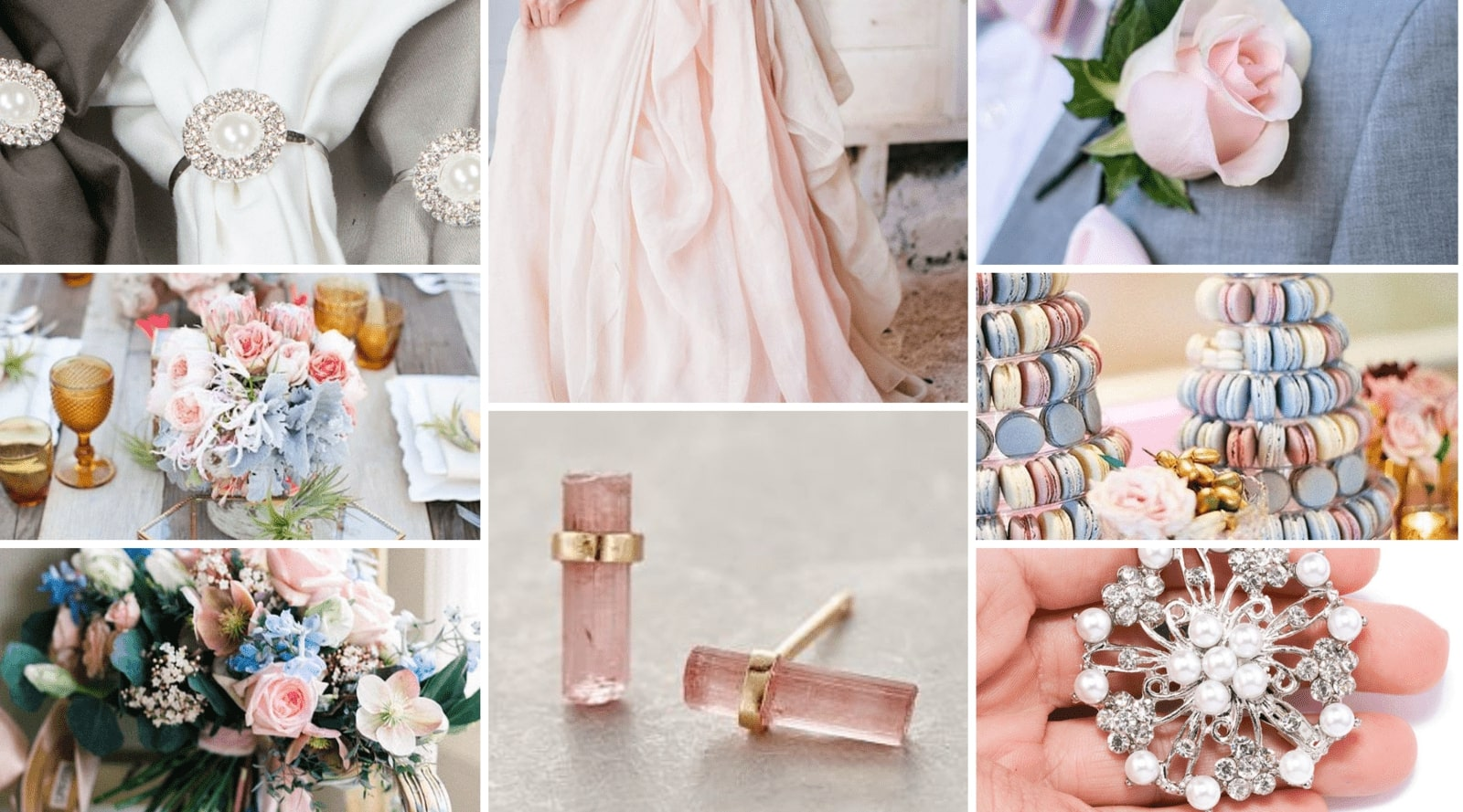 Rose Quartz and Serenity Color Inspiration