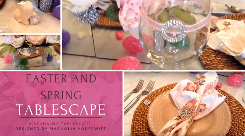 Easter + Spring Tablescape by Magnolia Housewife