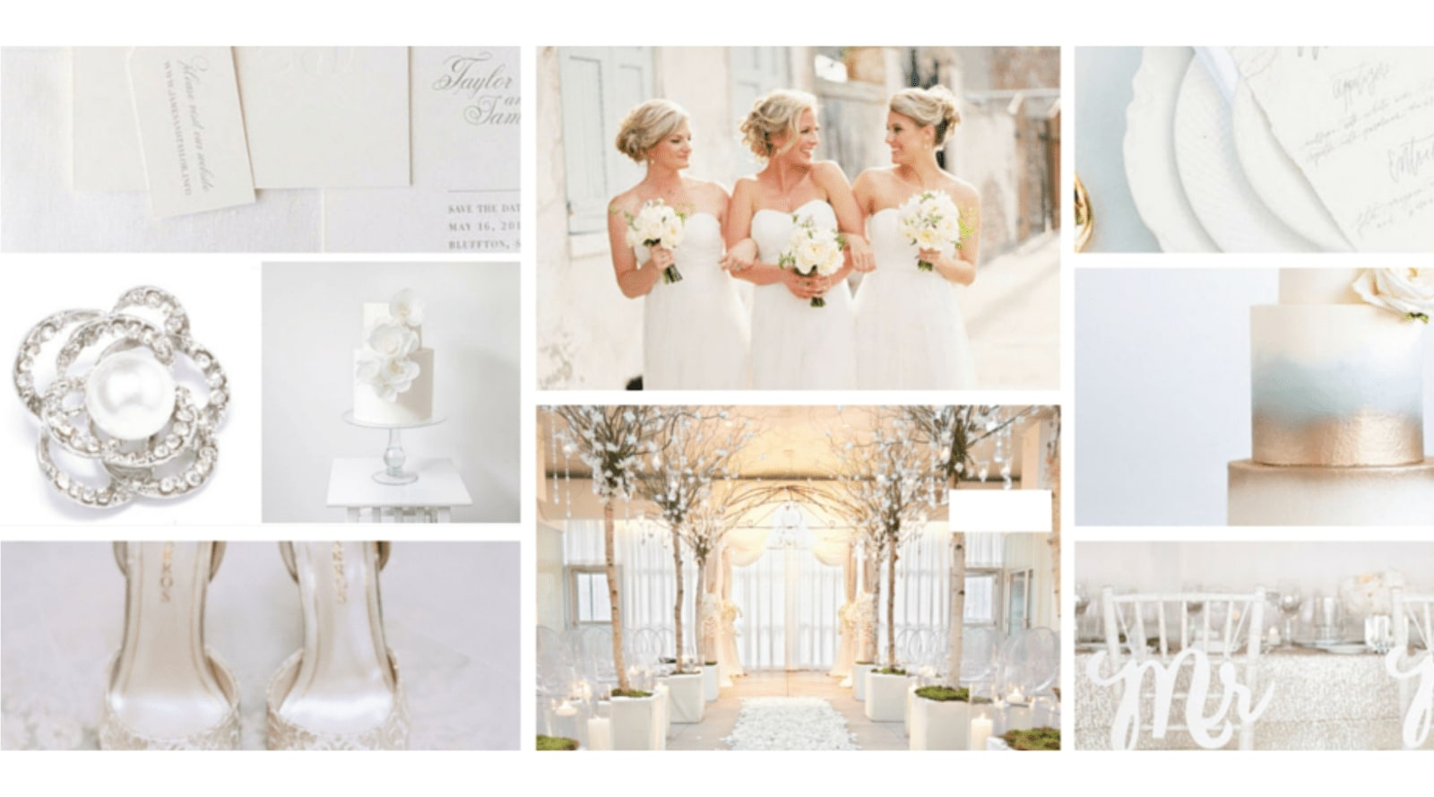 White Wedding Theme Inspiration
