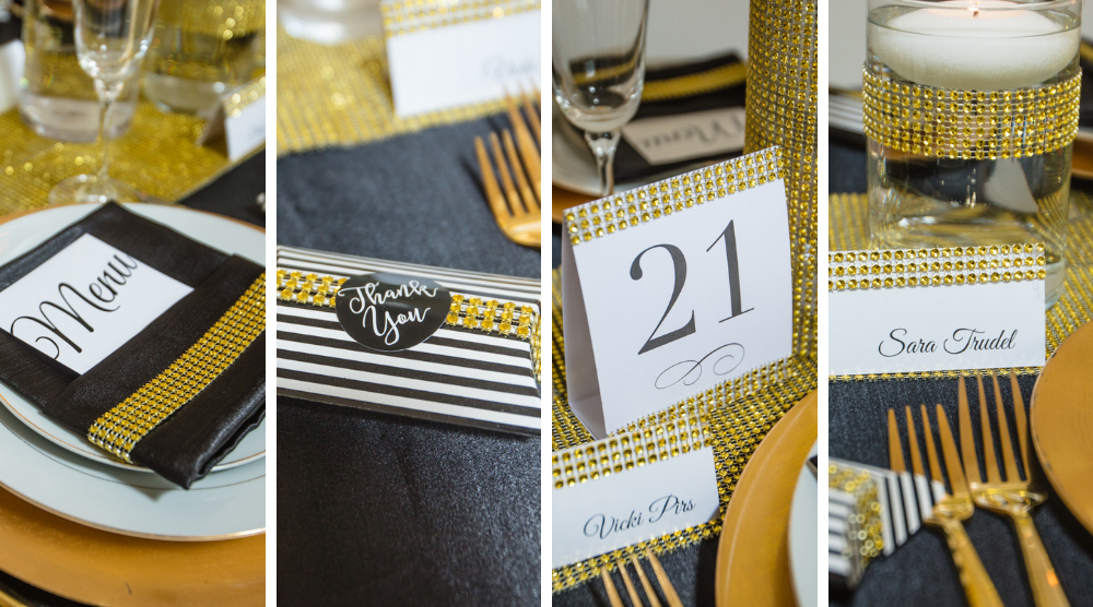 Gold Bling Wrap Ideas