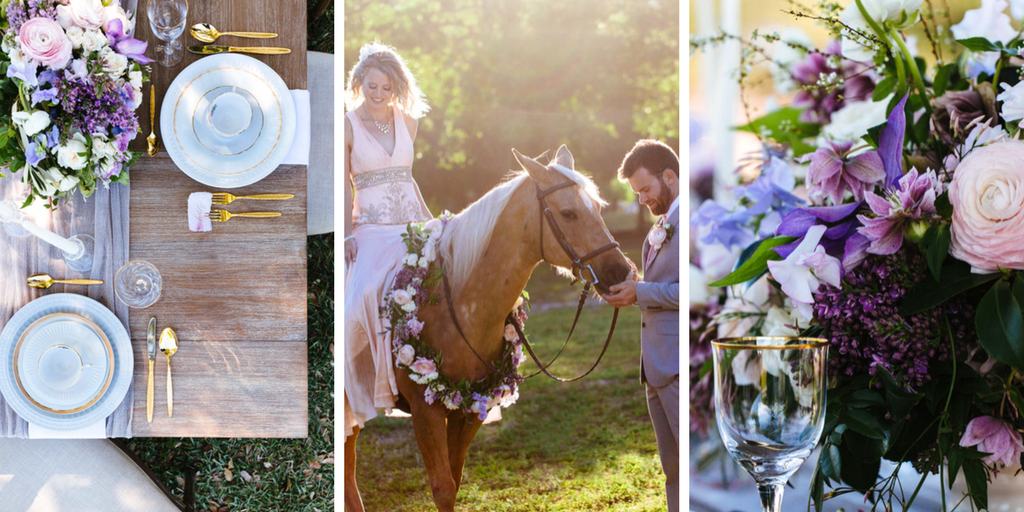 Blue Orchid Events | Lucy + Jean Wedding